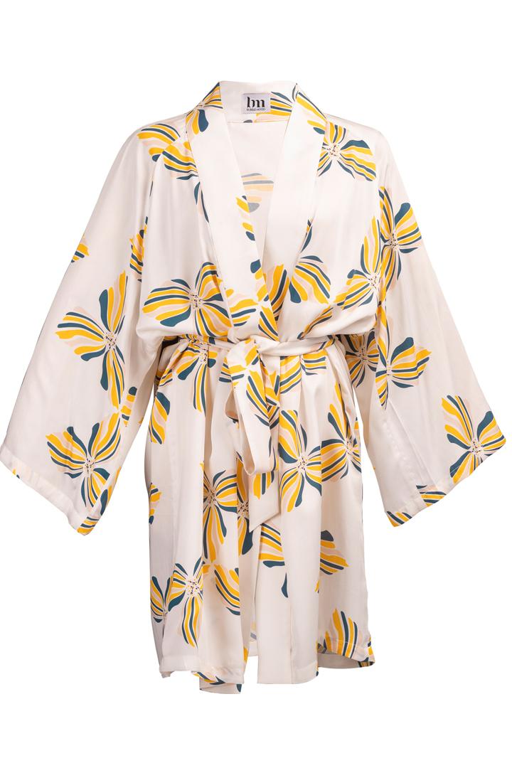 Découvrez notre Kimono pour femme Bali white, le must dans votre garde robe
