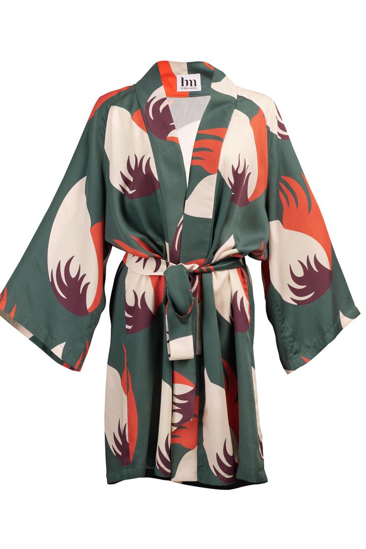Découvrez notre Kimono pour femme Chiang Mai Green, le must dans votre garde robe