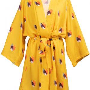 Découvrez notre Kimono pour femme Shanghai Jaune, le must dans votre garde robe